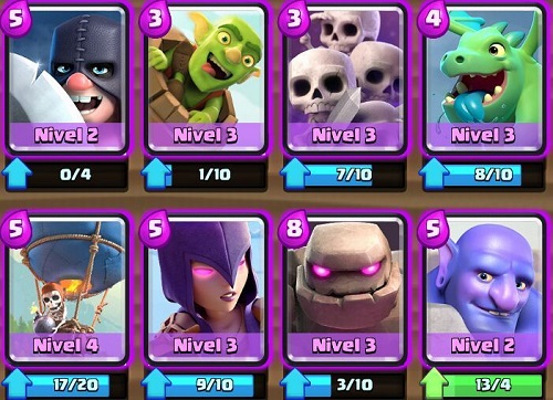 cartas epicas de clash royale