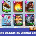 cartas mas usadas en clash royale
