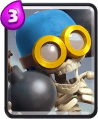 clash royale cartas bombardero