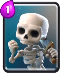 clash royale cartas esqueletos