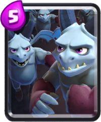 clash royale cartas horda de esbirros