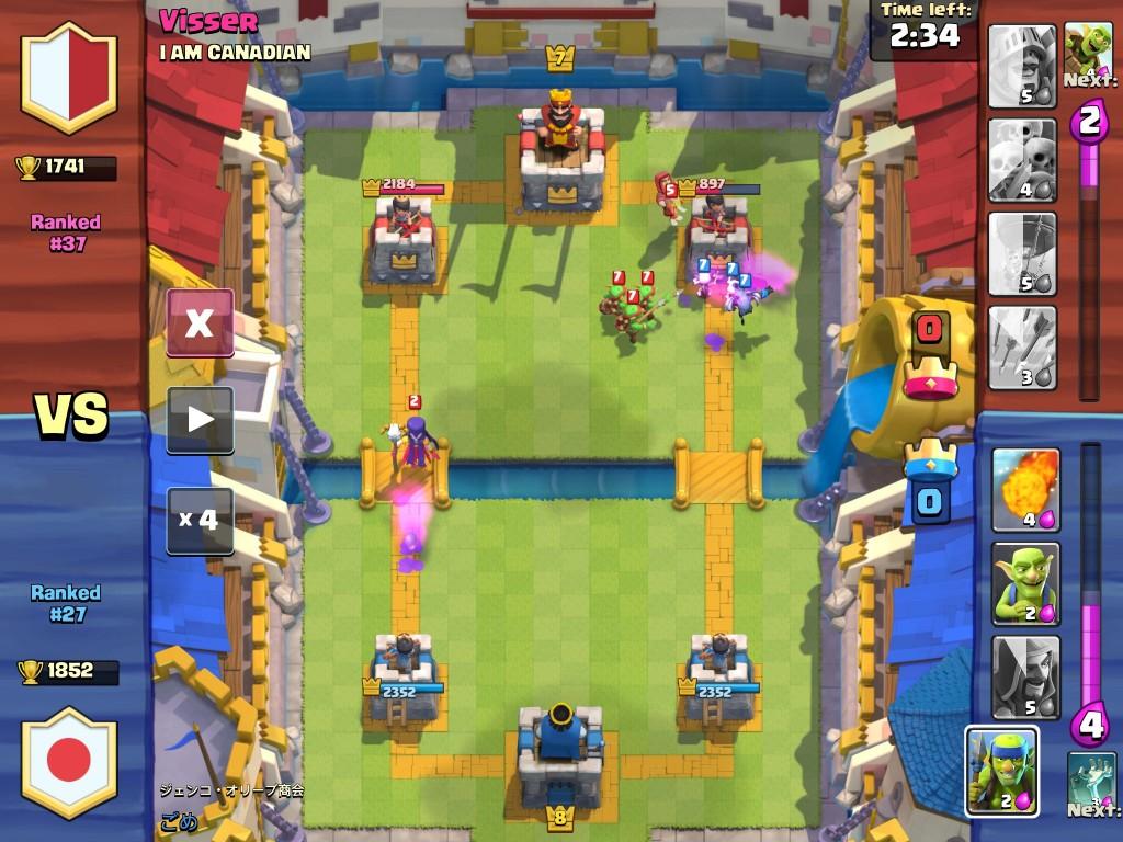 Descargar Clash Royale de Supercell para iPad gratis