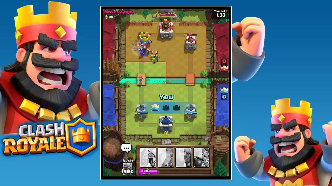 Juega con tus amigos en Clash Royale para iPhone