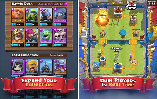 Juega contra millones de jugadores en Clash Royale para Android