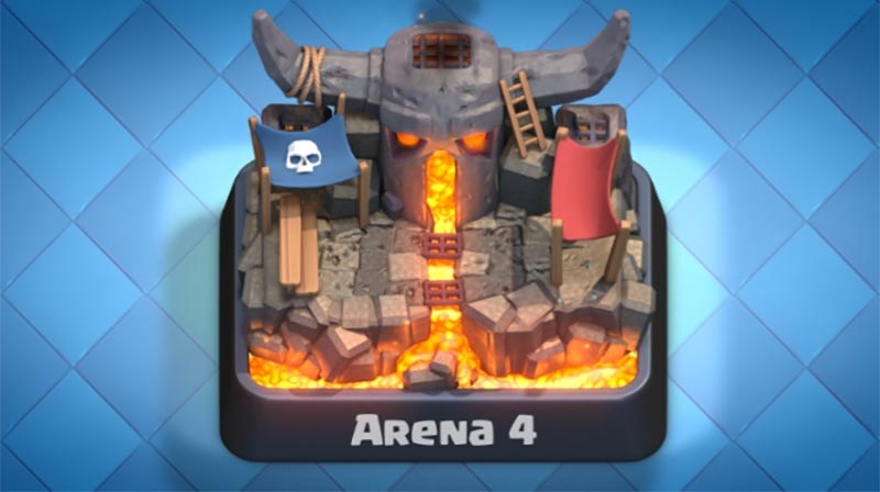 Deck de ataque clash royale para la arena 4 for Deck pekka arene 6
