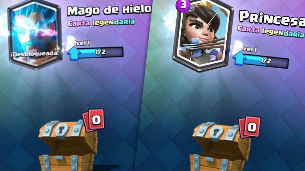Clash Royale cartas legendarias