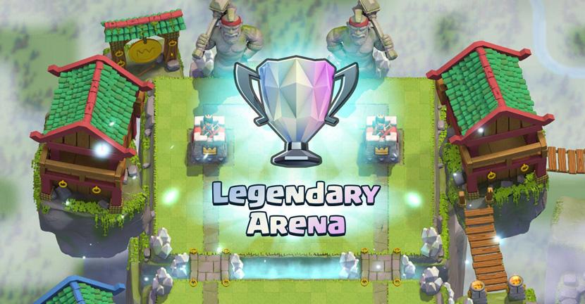 Mazo para alcanzar arena legendaria