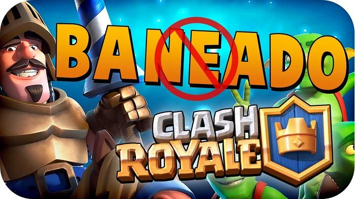 clash royale protegerte de baneos