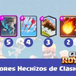 los mejores hechizos de clash royale