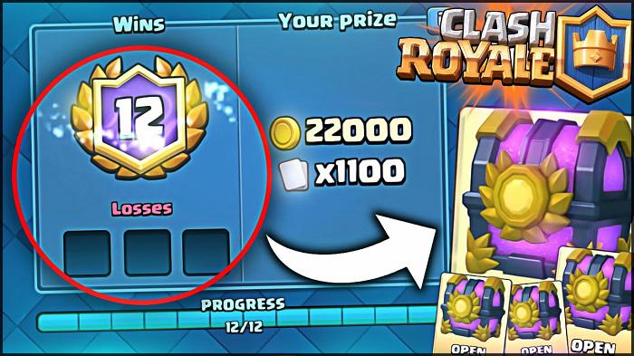 12 victorias desafios clash royal